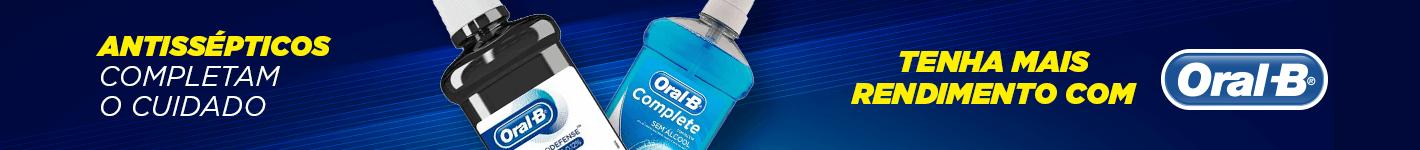 Antisséptico com Rendimento Oral-B na Dental Cremer Produtos Odontológicos