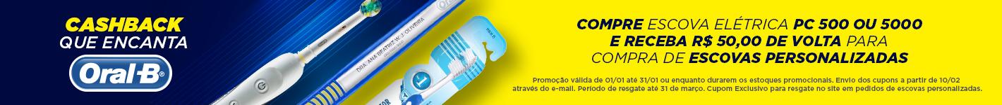 Escova Elétrica Oral-B com Cashback na Dental Cremer Produtos Odontológicos