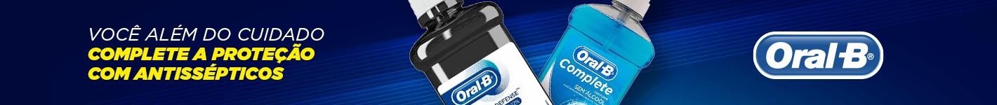 Cuidados Antissépticos Oral-B na Dental Cremer Produtos Odontológicos