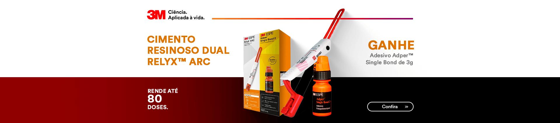 Compre Cimento Resinoso RelyX ARC 3M e Ganhe Adesivo Adper Single Bond | Dental Cremer