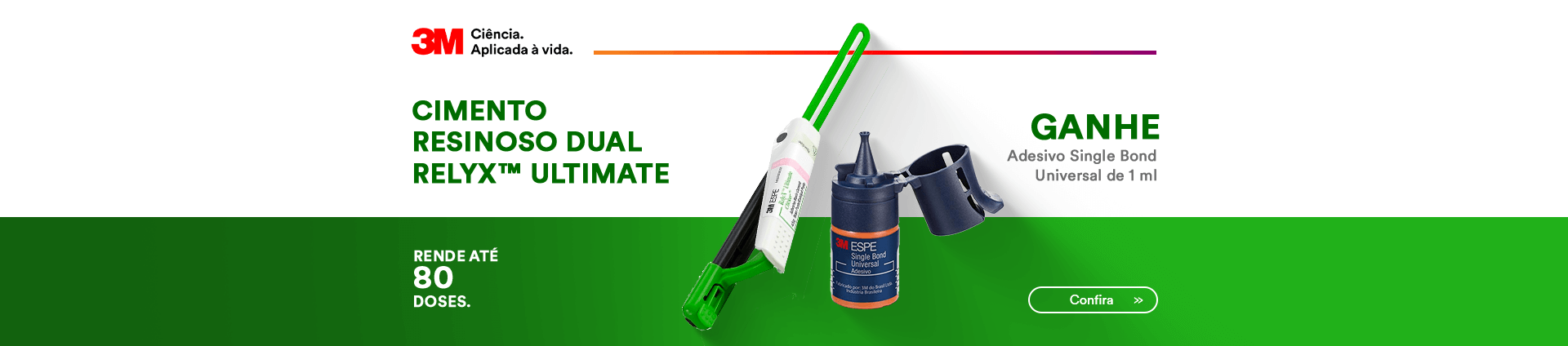 Compre Kit Cimento Resinoso RElyx Ultimate e Ganhe Adesivo Single Bond! | Dental Cremer