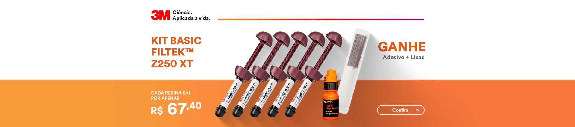Compre Kit Resina Z250XT e Ganhe Adesivo Single Bond 3M | Dental Cremer