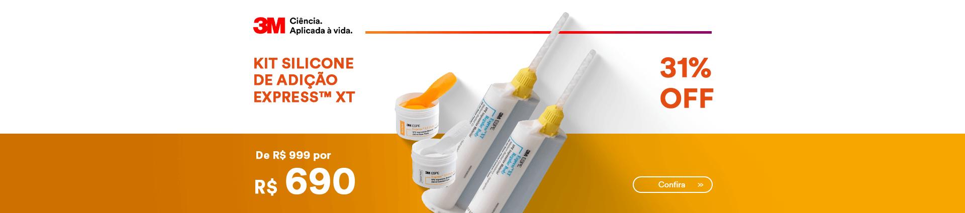 Kit Silicone de Adição Express 3M com 31% OFF e Frete Grátis | Dental Cremer