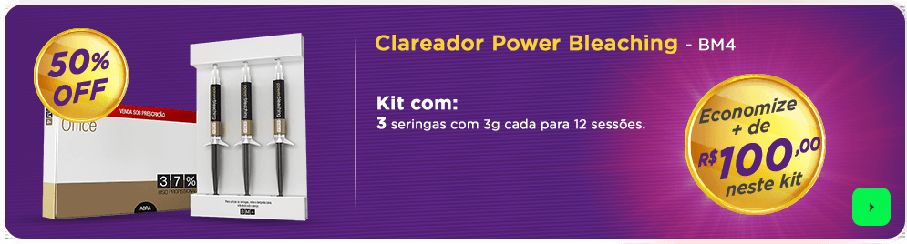 Kit Clareador Power Bleaching com 3 Seringas | Dental Cremer