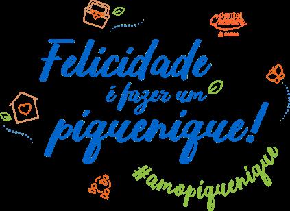 Felicidade é fazer um piquenique! #AmoPiquenique